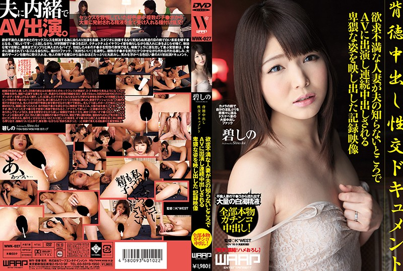 An Immoral Creampie Sex Document Shino Aoi