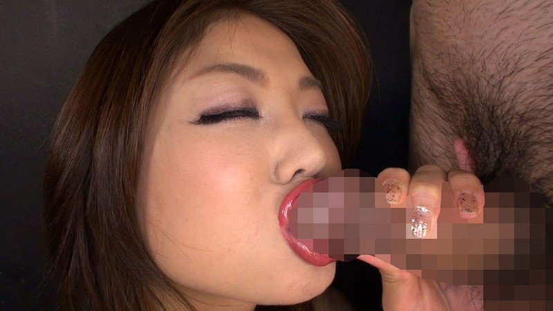 Sexy lips blowjob
