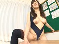 Colossal Tits Hanging Out of a Competitive Swimsuit Alice H-Cups preview-14