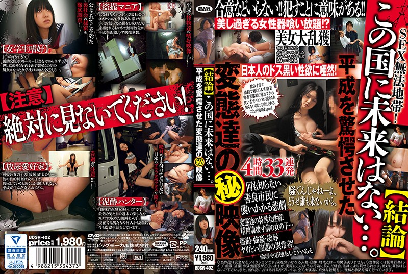 BDSR-402 free movies porn [Conclusion] There Is No Future For This Country… Secret Videos Of Perverts Who Shocked The Heisei