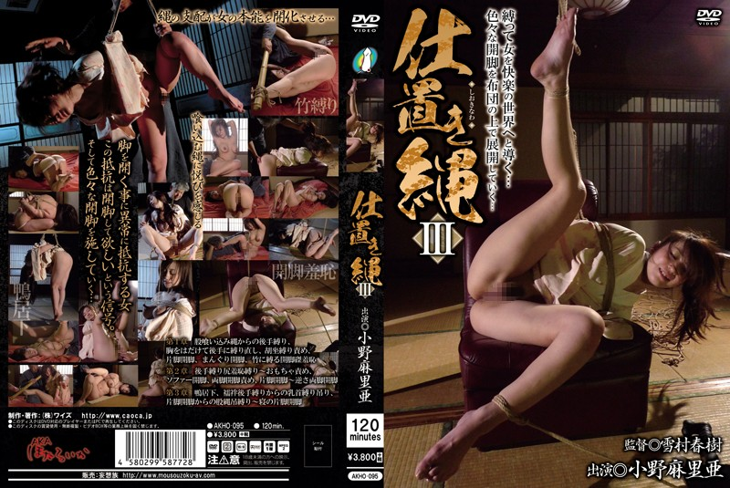 AKHO-095 japanese porn videos The Punishment Rope III Maria Ono