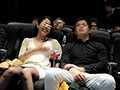 A Couple At A Movie Theater The Big Tits Girlfriend Cuckolding Creampie Molester preview-3