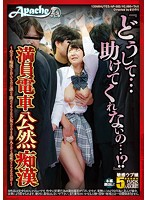 """""""Why Won't You Save Me!?"""" Open Molestation on a Packed Train! Poor Woman Gets Openly Assaulted on a Busy Train but Nobody Helps Her so She Gets Pounded by Her Molester! Download"""