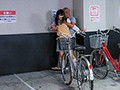 Holding A Girl In The Piledriver Position And Unloading Massive Loads Of Cum Into Her Panties And Molesting Her In A Bicycle Parking Lot. preview-8