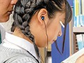 Girls Wearing Earphones Don't Notice Till The Last Second. Molesting Schoolgirls In A Bookstore 3 ~Schoolgirls Listening To Loud Music Won't Notice Even If You Touch Them!~ preview-7