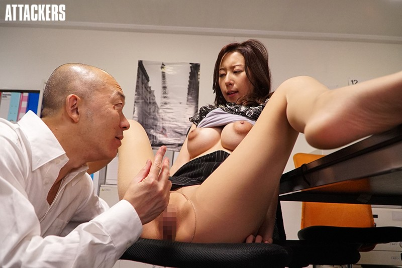 ATID-327 The Moist Pantyhose Of An Office Lady. Saeko Matsushita
