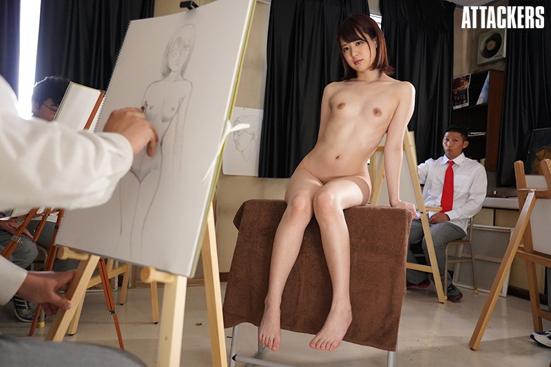 ATID-357 This Teacher Advisor To The Art Department Was Forced To Become A Nude Sketch Model