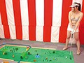 Definite Panty Shot Action! Plenty Of Nip Slips! Get Some! A Hole In One!! The Miniature Golf Stripping Game preview-13