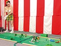 Definite Panty Shot Action! Plenty Of Nip Slips! Get Some! A Hole In One!! The Miniature Golf Stripping Game preview-7