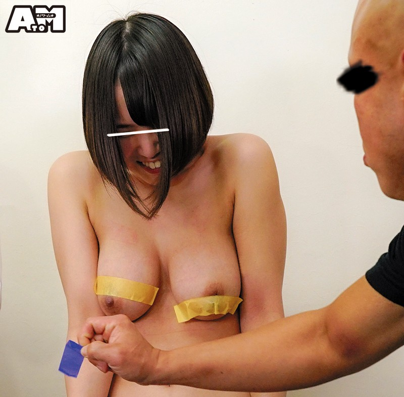 ATOM-385 A Piece Of Tape Gets Torn Off For Every Wrong Answer, Revealing These College Students' Tits And Pussies