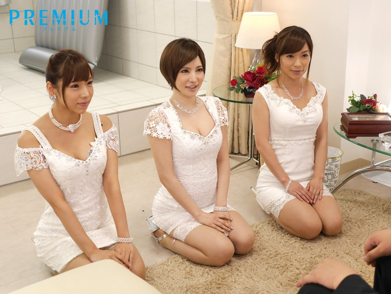 [AVOP-129] (decensored) PREMIUM Stylish Soapland Goal - Harem Three-Way & Twin Chair Special