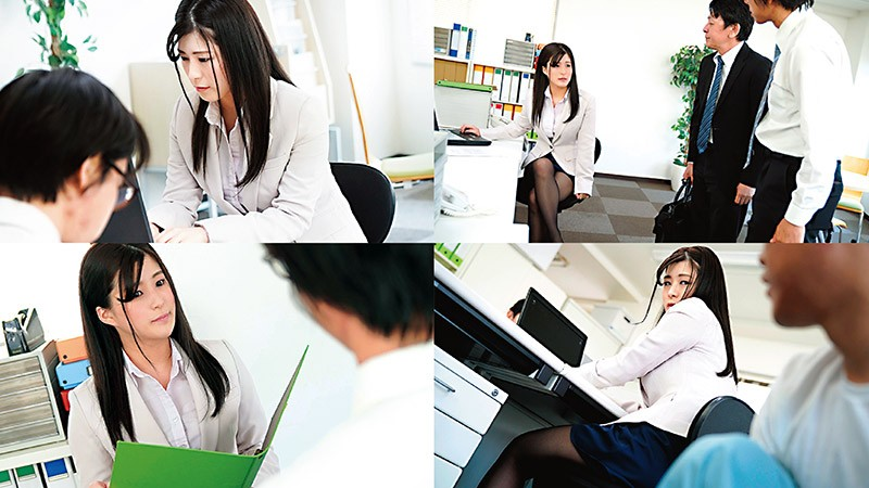 AVSA-155 A Female Director With Big Tits Wearing Pantyhose Who Falls Into Masochism