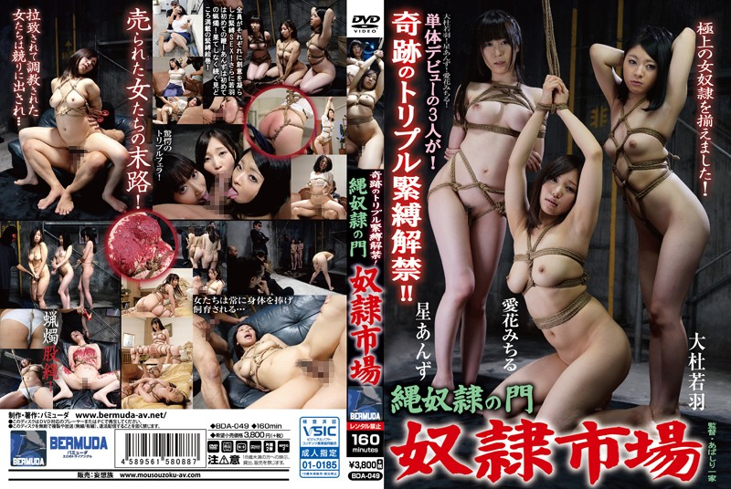 BDA-049 Wonderful Triple S&M! Rope Slave Gateway - Slave Town