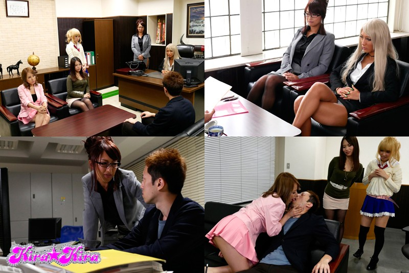 BLK-301 Fun At The Harlem Office With An Elder Sister Gal Boss Is Having Sex Part Of The Job?