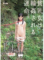 The Fate Of A Flat Chested Girl. Rina 147cm (Shaved)