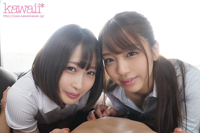 CAWD-193 They Thought That I Was A Hot Prospect And A Good Catch, So … These Two New Horny Slut Employees Took Me Home And Took Turns Fucking Me Until My Balls Went Dry In A Reverse Threesome Fuck Fest Kanon Amane Himari Kinoshita