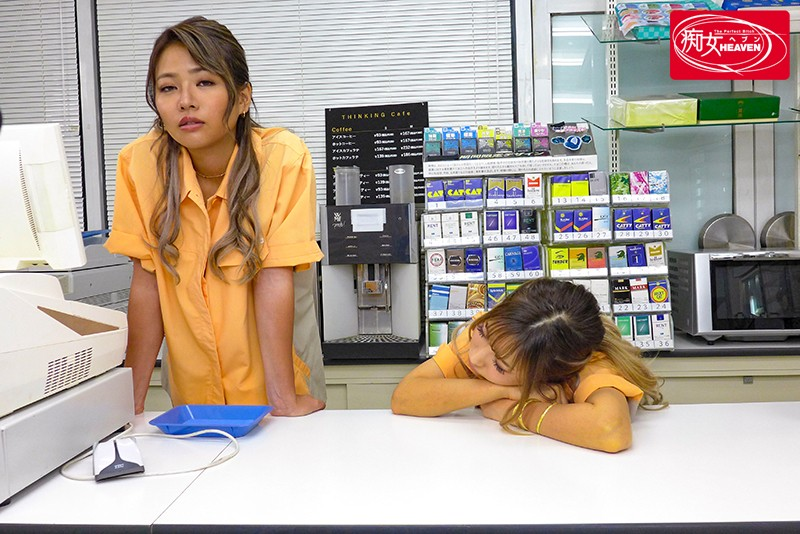 CJOD-266 Late Night Convenience Store: Slutty Gal Employees Bored With The Slow Business Entertains Themselves By Fucking The Customers And Getting Creampied! AIKA, Kaho Imai