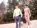 Undercover With A Real Caddy At A Golf Course - Her Outdoor Adult Video Debut! Moe Katakura preview-6
