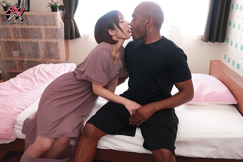 DASD-768 Black Guy Homestay NTR Thick Bottled Sized Thing Stands Up Inside His Underwear Miku Abeno