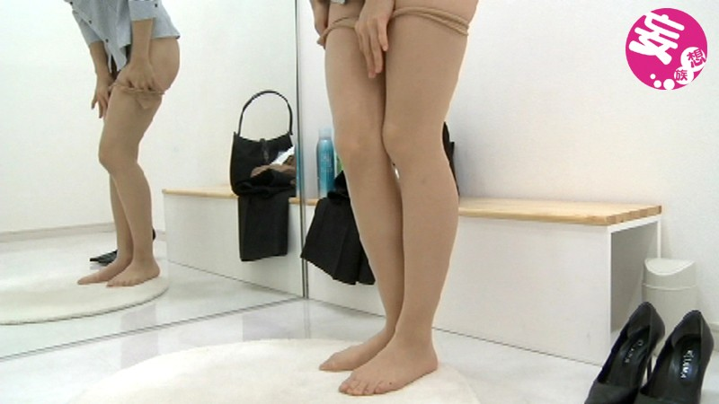 DFTR-046 - Wear Sort 2 Of Legs OL Pantyhose To Look Carefully - F-FACTORY / Mousouzoku big image 6