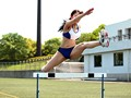 A 10 Year Track And Field Career! A National Tournament Prize Winner In The 100 Meter Hurdles! A Muscular Body Bursting With Explosive Power!! A Real Life College Girl Athlete Making Her AV Debut Mari Kimura , Age 20 preview-1