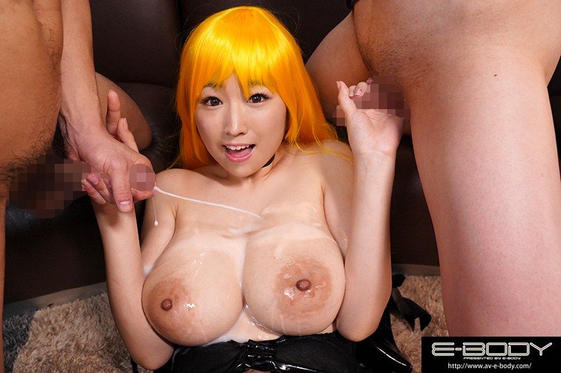 [EBOD-684] Fans Of The J-Cup Titty Cosplayer Only!! A Colossal Tits BUKKAKE Titty Fuck Orgy Offline Meetup Nanami Matsumoto