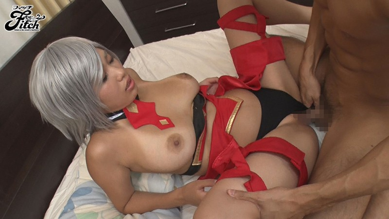 [FINH-073] My Neighbor Is A Dirty Cosplayer Who Tempts Me With Her Tanned Body And Colossal Tits. Reina