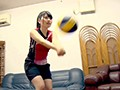 Volleyball Athlete Attending Athletics University! Big Ass Pervent Super Masochist Beautiful Girl preview-3