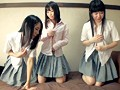 Schoolgirl Money Shots It's Not Scary If Everyone Does It?! Three Curious Private School Girls. Loser Has To Fuck In Public In A Rock, Paper, Scissors Death Match preview-1