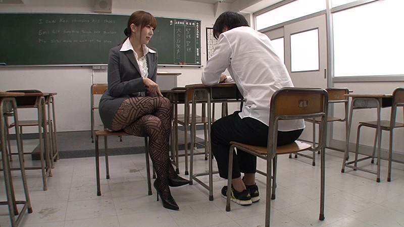 Female teacher pantyhose