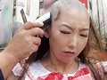 When The Underground Idol Sakura Mimi Failed To Reach Her CD Sales Target, She Was Punished By Having Her Head Shaved. preview-4