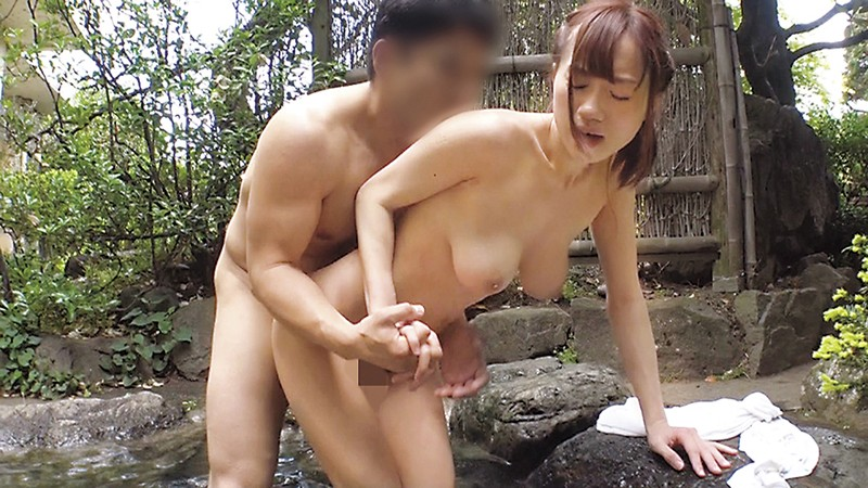 SCPX-143 Sent Out To Do A Report On A Hot Spring, This Famous Female Anchor Keeps Flashing Me! (It's For TV But She's Totally Naked Under Her Towel!) I Couldn't Help Myself... I Got Hard... And When She Noticed, I Got My Cherry Popped By A Celebrity!