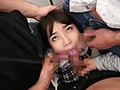 The Evil Dick Penetrates Her Pussy Deeply From Behind Until She Orgasms. Impregnating Molestation From Behind. Aoi Kururugi preview-7