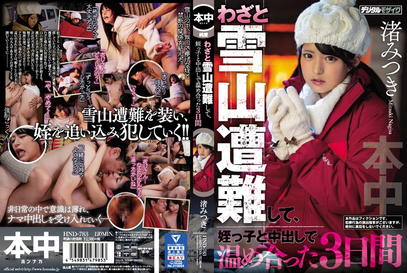 HND-783 I Caused A Disaster In The Snow On Purpose So That I Could Spend The Next 3 Days Warming Up My Niece With Creampie Sex Mitsuki Nagisa