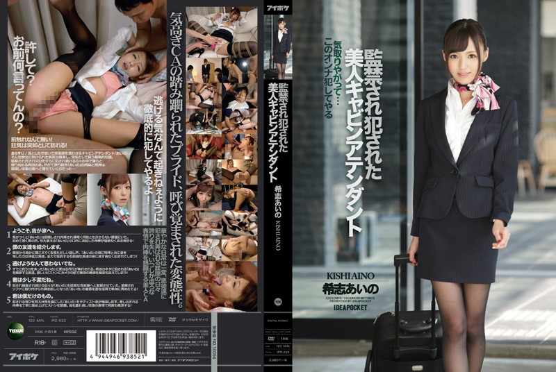 IPZ-522 A Hot Stewardess's Confinement & Rape Aino Kishi