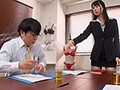 An Overbearing Female Company President Spreads Open Her Butt Cheeks, Pisses Herself And Apologizes ~Shameful Piss Training After Being Forced To Drink A Diuretic~ Sumire Kurokawa preview-1