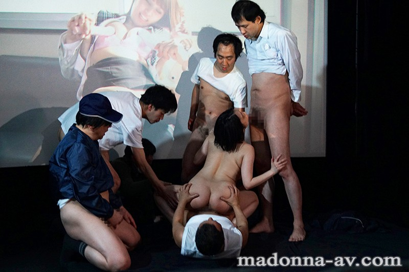 [JUL-259] The Immoral Cuckold Theater Room A Virtuous Wife Gets Soiled By The Dirty Cocks Of Lusty Men Hijiri Maihara