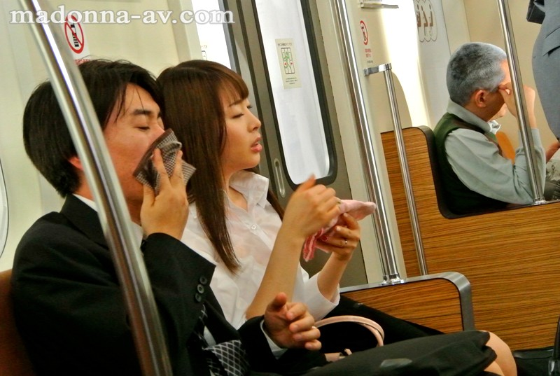[JUX-657] Sweaty T*****e & R**e In A Badly Air Conditioned Car - Married Woman Commuting To Work Gets Groped On The M****ter Train Misaki Honda