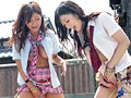 Kira Kira High School Gal - Spreading Her Legs In Public and Squirting Uncontrollably - Haruki Sato Hibiki Otsuki preview-2
