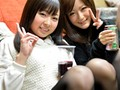 College Girls At A Travel Club's Drinking Party Love To Flash Their Full Panties - Riho & Maya - Amateur Used Panty Fanciers preview-1