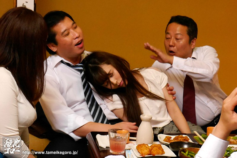 MEYD-431 Year-End Party NTR – My Wife Can't D***k A Drop Of Liquor But She Couldn't Refuse When Her Boss Offered Her A D***k And She Got Dead D***k And Fucked To Oblivion In This Video – Lily Hosho