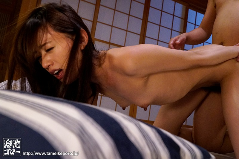 MEYD-469 My Orgasmic Dad Is Still In The Game And Still Fucking My Mom And Now He's Horny For My Wife And Hunting Her On Her Danger Days For Creampie Reverse Night Visit Sex Airi Kijima