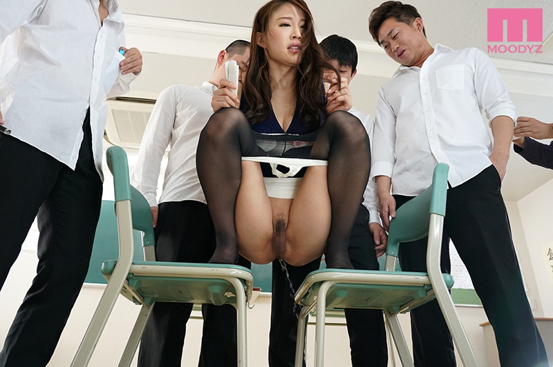 MIAA-081 Free For All Sex With A Slut With I Cup Tits And A Plump Ass Female Teacher