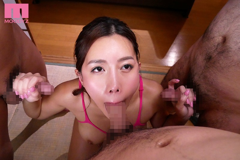 MIAA-204 This Quietly Elegant Big Tits Wife Is Actually A Horny Creampie Cum Bucket For The Town Hall Association