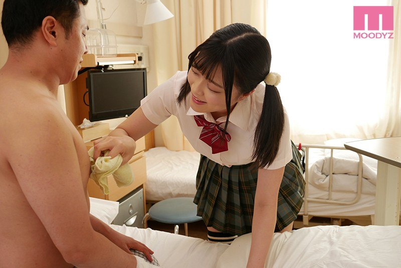 MIAA-205 My Little Devil Friend Came To The Hospital To See How I Was Doing, And Then She Secretly Burrowed Under The Futon To Make Me Cum, Over And Over Again