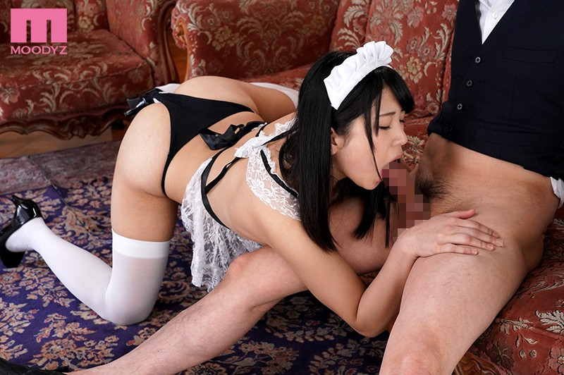 MIAE-261 A Panting And Moaning Blowjob While Cumming My Maid Will Be Sucking On My Cock While She Spasms In Ecstasy Mari Takasugi