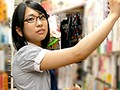 These Are Simple Girls Who Work At This Bookstore, But When She Takes Off Her Clothes, She's Got A Super Exquisite Body! This College Girl Likes It Hard And Deep, And She's Performing In This AV Because She Wants To Get Pumped And Banged From Behind By An AV Actor!! Mari Takasugi preview-1