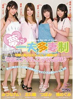 Polygamy Dream: Hot Beautiful Girls Under One Roof! Three Flavors: Creampie, Anal and Cum Swallowing! 下載