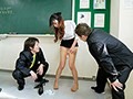 Creampie Classroom Destruction My Wife Is The New Teacher But Those DQN Bad Boys Made Her Their Cum Bucket Miyu Amano preview-5