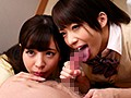 If You've Got The Cash They're Down To Fuck! Schoolgirl Takes A Creampie From A Much Older Man Rika Mari & Aya Sazanami preview-2